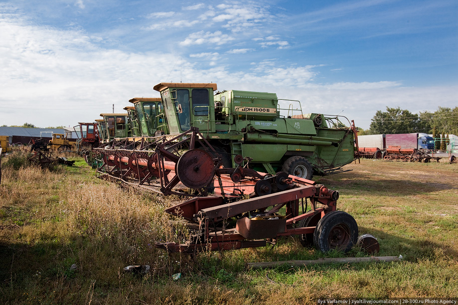 хранение сельскохозяйственной техники в ссср фото стандартную