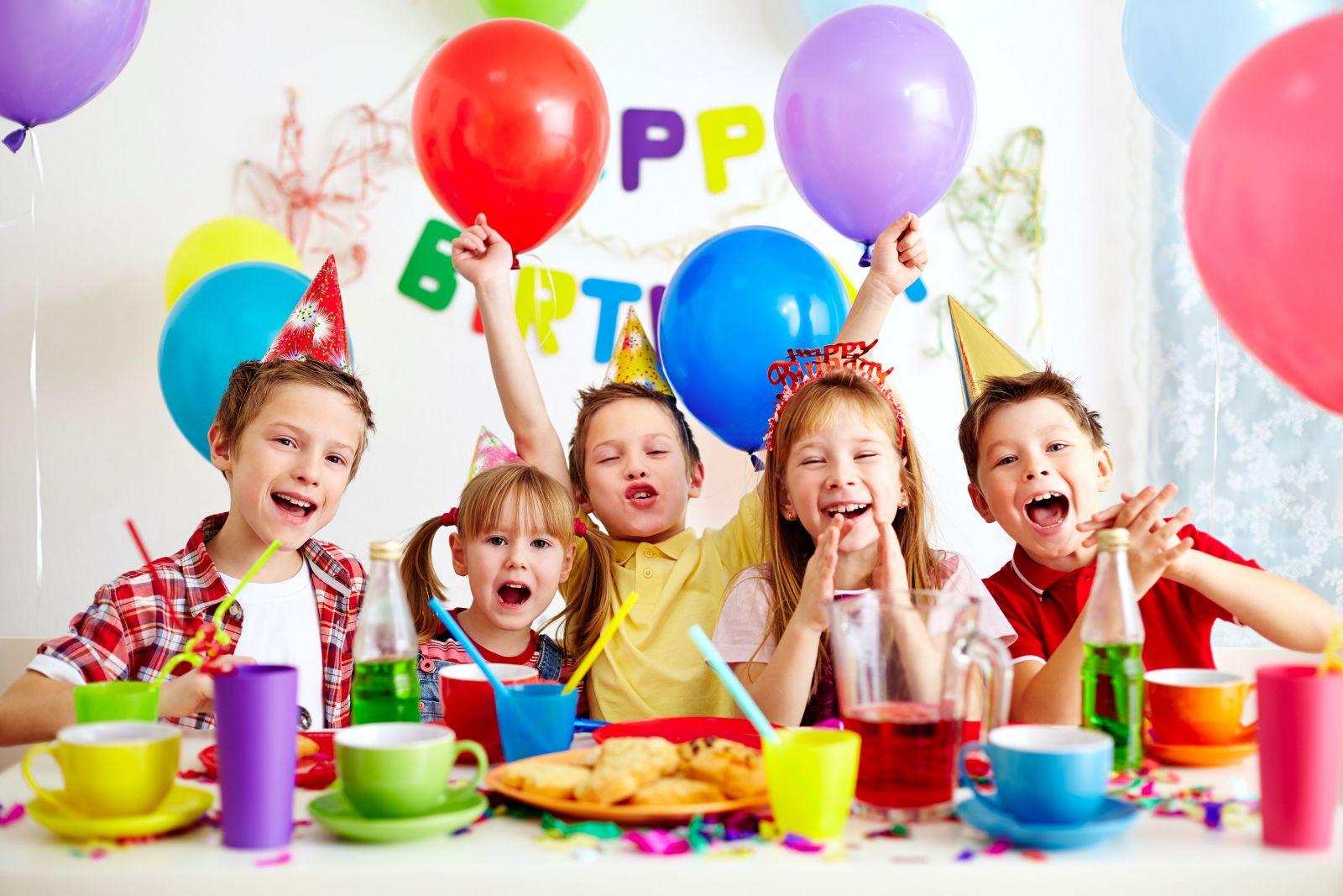Смешные картинки детского праздника, поздравление днем